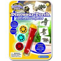 Proiector dinozauri Brainstorm Toys, 24 fotografii, 3 ani+