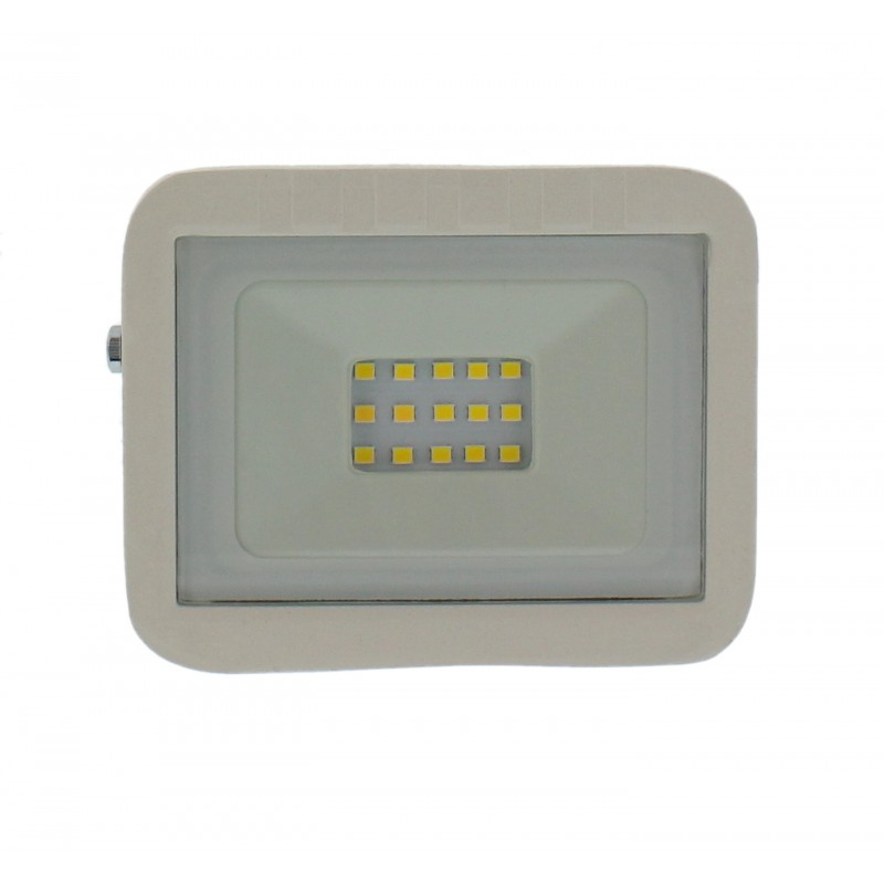 Proiector LED Well, 10 W, 800 lm, IP65, 4000 K, Alb 2021 shopu.ro