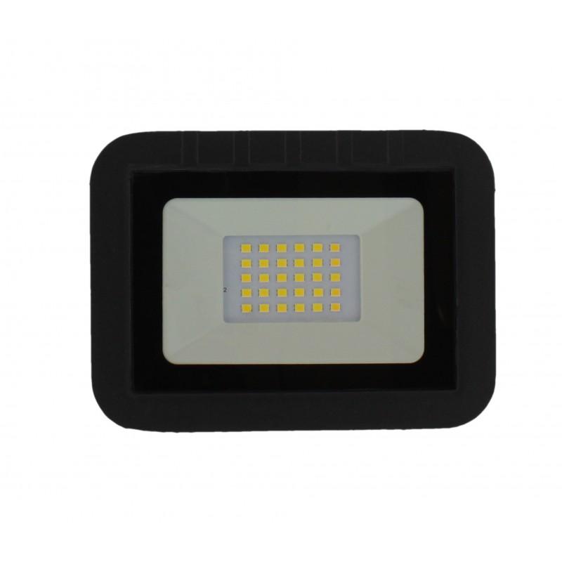 Proiector LED Well, 20 W, 1600 lm, IP65, 4000 K, Negru shopu.ro