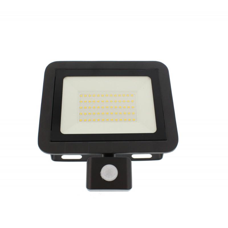 Proiector LED cu senzor Well, 50 W, 4000 K, 4000 lm, IP44