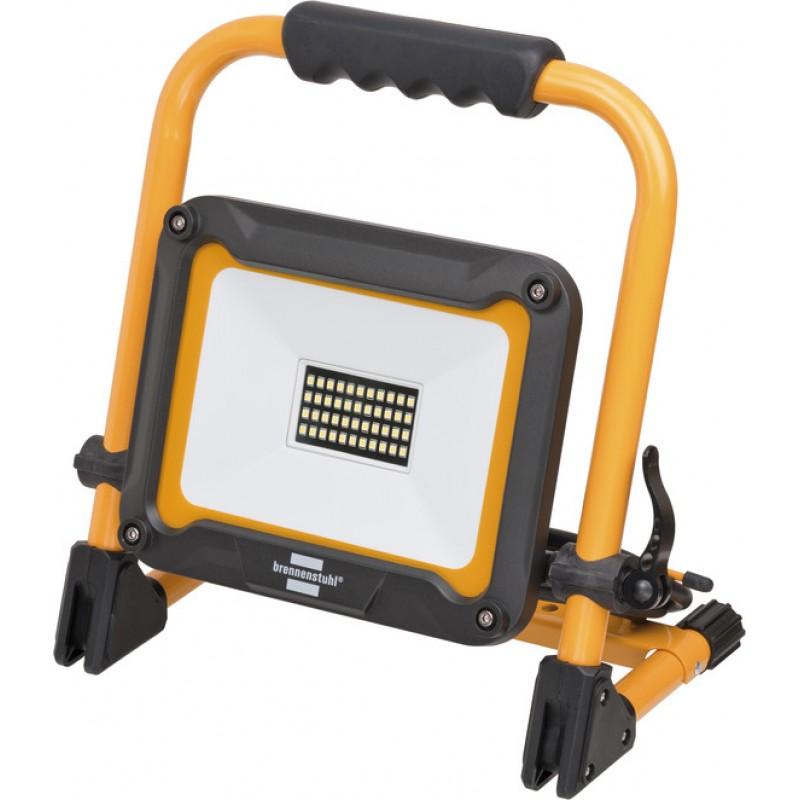 Proiector LED portabil Brennenstuhl JARO 3000M, 30 W, 3 m, 2930 lm, 6500 K, IP65, sticla securizata, aluminiu 2021 shopu.ro