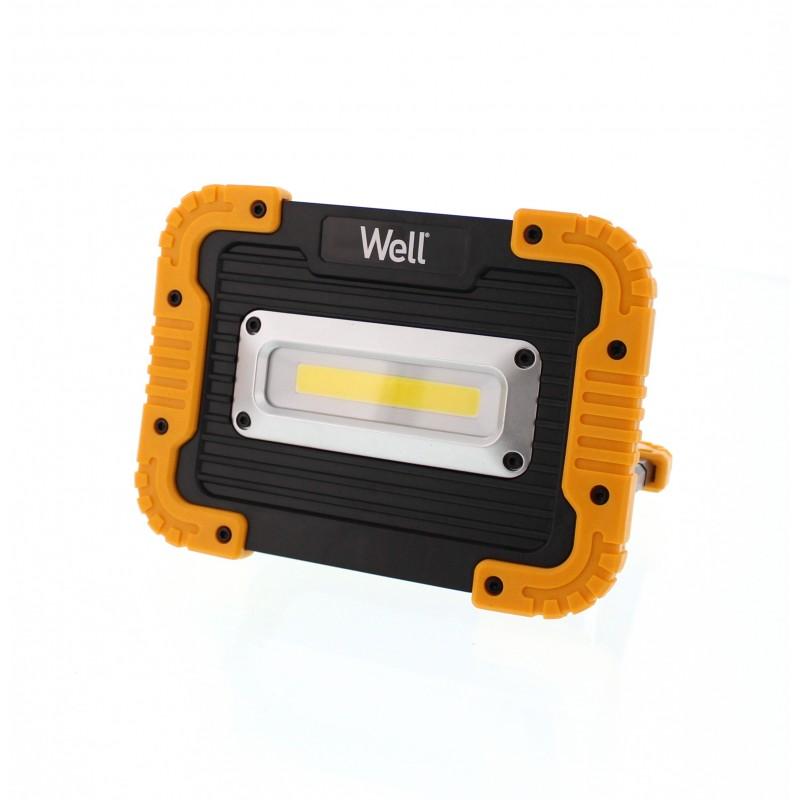 Proiector LED Well, alimentare 4 x AA, putere 10 W, 600 lm 2021 shopu.ro