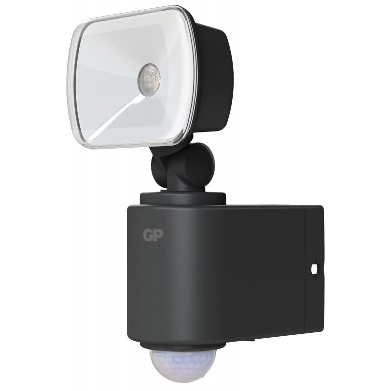 Proiector LED GP Safeguard 3.1, baterie si senzor miscare, autonomie 600 de zile shopu.ro