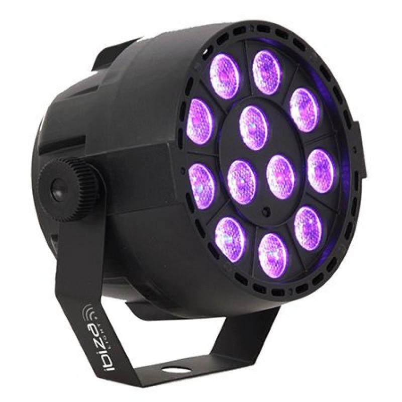 Proiector DMX LED/UV, 12 x 2 W, microfon, 4 canale 2021 shopu.ro