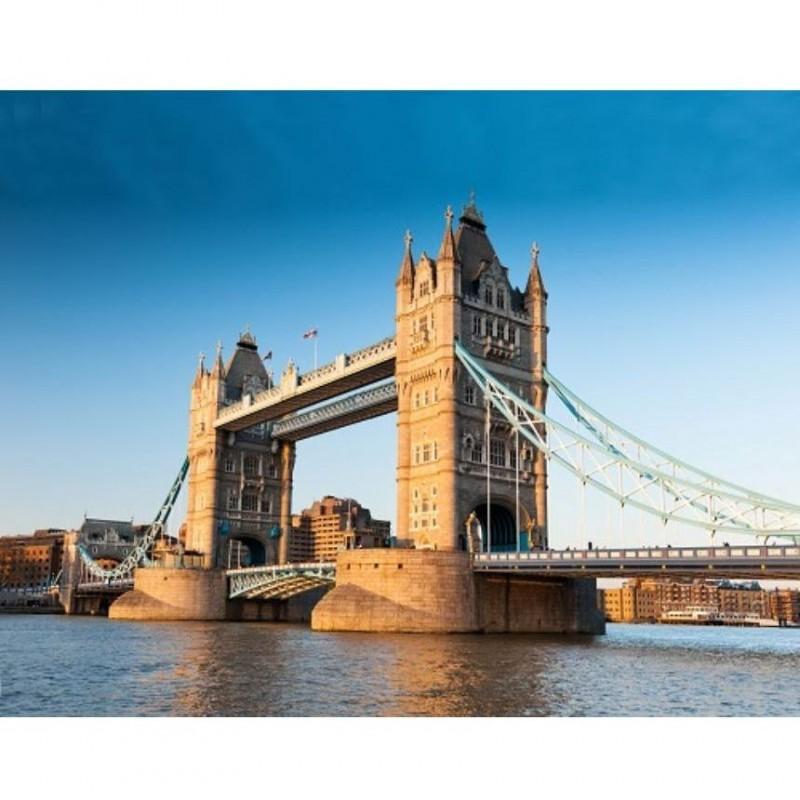 Proiector obiective turistice Marea Britanie Brainstorm Toys, 24 imagini, Violet