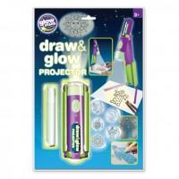 Proiector pentru desen cu pix fosforescent inclus The Original Glowstars Company, Multicolor