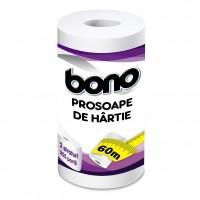 Prosoape hartie Bono, 2 straturi, 255 foi, 60 m