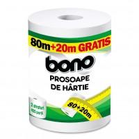 Prosop hartie Bono, 2 straturi, 100 m, celuloza pura