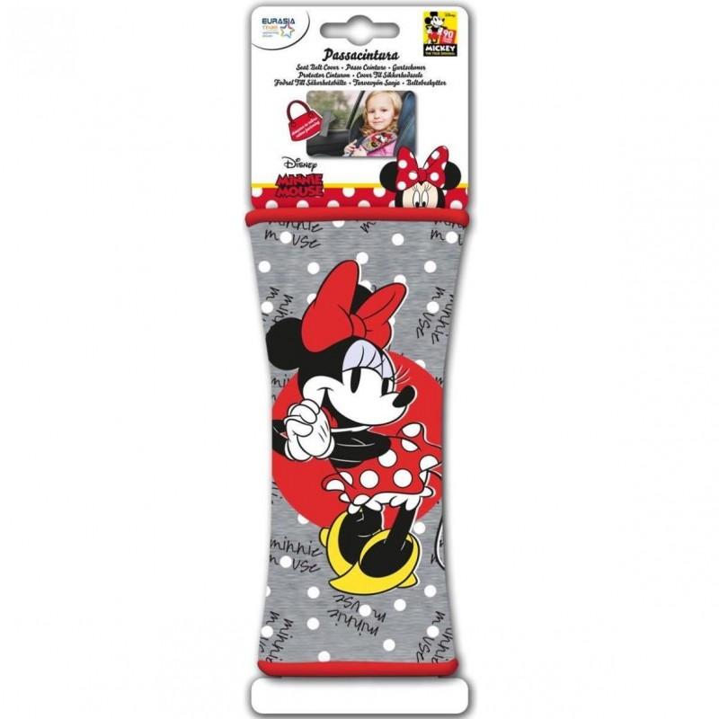 Protectie centura de siguranta Minnie Disney Eurasia, 19 x 8 cm 2021 shopu.ro