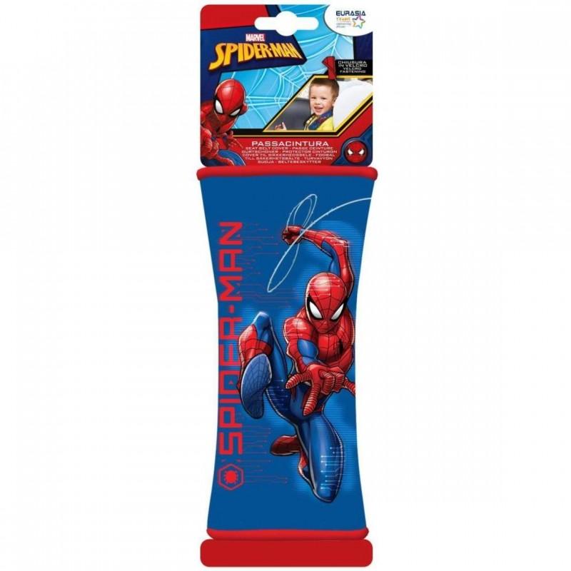 Protectie centura de siguranta Spiderman Disney Eurasia, 19 x 8 cm 2021 shopu.ro