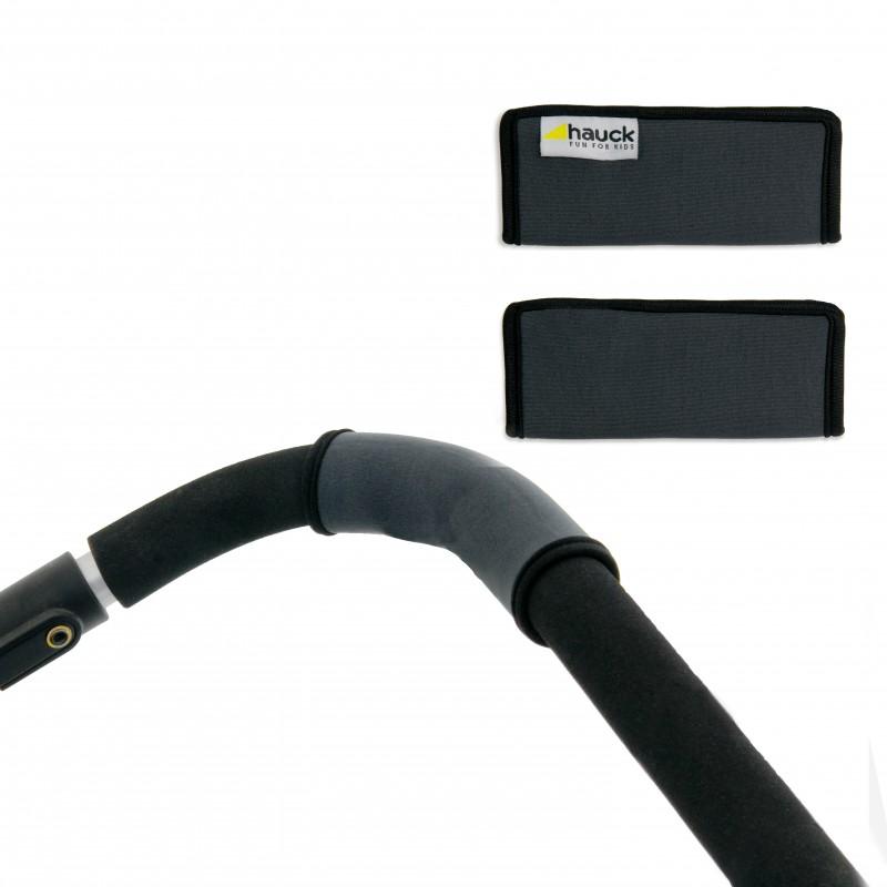 Protectie maner carucioare Handle Me, material lavabil, fixare cu scai, 2 bucati/set