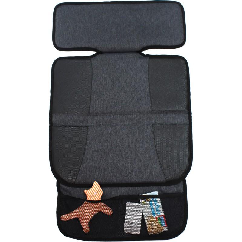 Protectie scaun auto poliester L Altabebe, 78 x 45 cm, negru 2021 shopu.ro