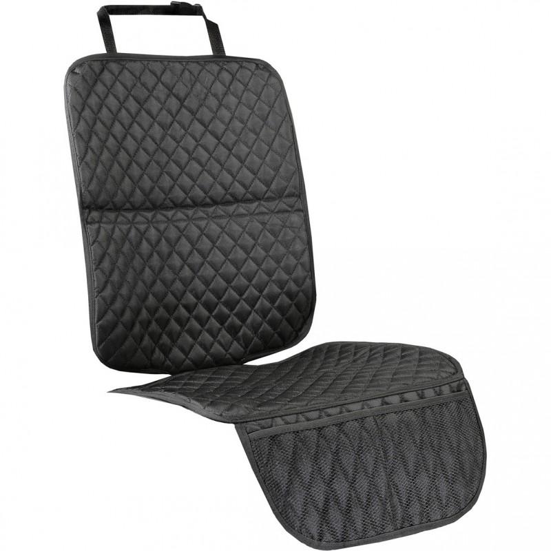 Protectie scaun auto Tuloko, 115 x 34 cm, Negru 2021 shopu.ro