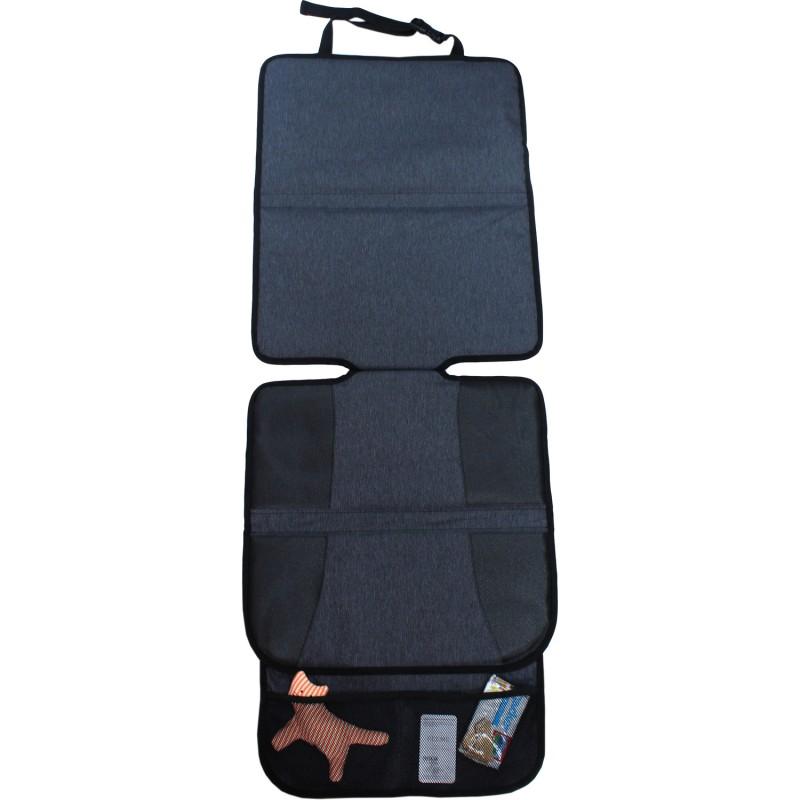 Protectie scaun auto poliester XL Altabebe, 117 x 45 cm, negru 2021 shopu.ro