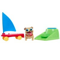 Jucarie interactiva Puppy Dog Pals Rolly, lansator inclus, 3 ani+