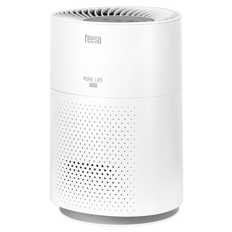 Purificator aer Pure Life Teesa P500, 38 W, 3 etape filtrare, mod sleep, 55 dB, Alb 2021 shopu.ro