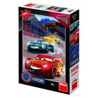 Puzzle Cars 3 Neon 100XL, 100 de piese, 5-10 ani