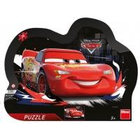 Puzzle cu rama Cars Dino Toys, 25 piese, 3 ani+