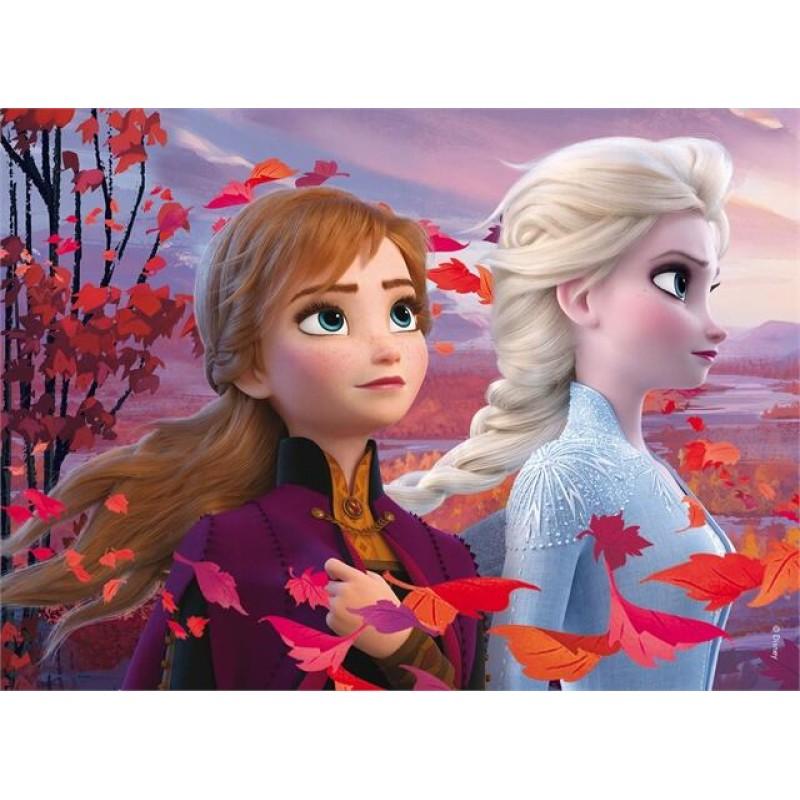 Puzzle de colorat Frozen II Lisciani, 35 piese, 3 ani+ 2021 shopu.ro