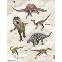 Puzzle Dinozauri Larsen, 30 Piese