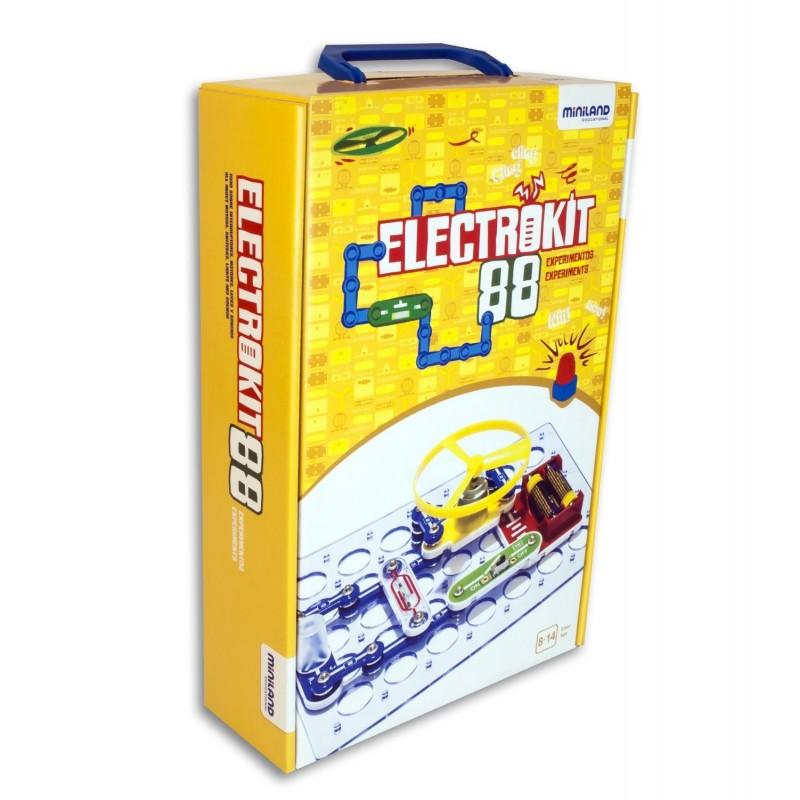 Puzzle electronic Miniland, 88 de variante, 8 ani+