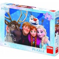 Puzzle Frozen Selfie Dino Toys, 24 piese, 3 ani+