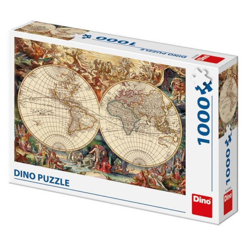 Puzzle Harta istorica, 1000 piese, 15 ani+ 2021 shopu.ro