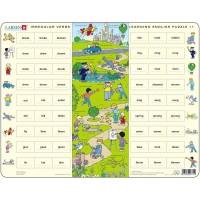 Puzzle Larsen Invatam Limba Engleza Nr 11, 54 piese