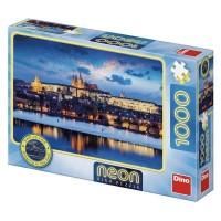 Puzzle Neon Castelul Praga Dino Toys, 1000 piese, 15 ani+
