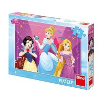 Puzzle Dino Toys, 24 piese, 4 ani+, model Printese
