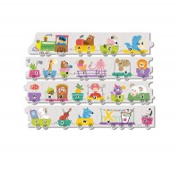 Puzzle Trenuletul alfabetului Dodo, 21 piese, 3 ani+