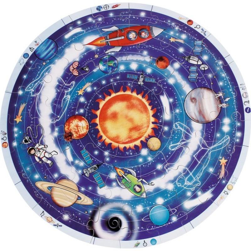 Puzzle XXL Beleduc Planetele, 49 piese, 4 ani+ 2021 shopu.ro