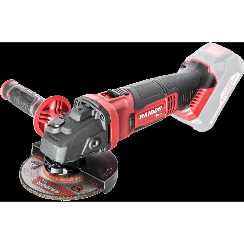 Polizor unghiular Raider, 20 V, 125 mm, 10000 rpm, M14, blocare ax shopu.ro