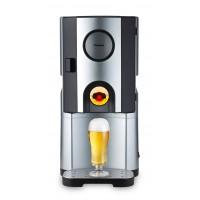 Racitor de Bere Beer Cooler Trisa, 65 W, 5 l, capac aluminiu, tava colectare detasabila, Argintiu