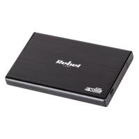 Rack aluminiu 2.5 Sata Rebel, USB, tip C, Negru