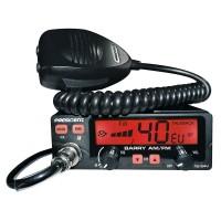 Statie radio CB President BARRY ASC, AM/FM, 12V/24V, cu squelch automat