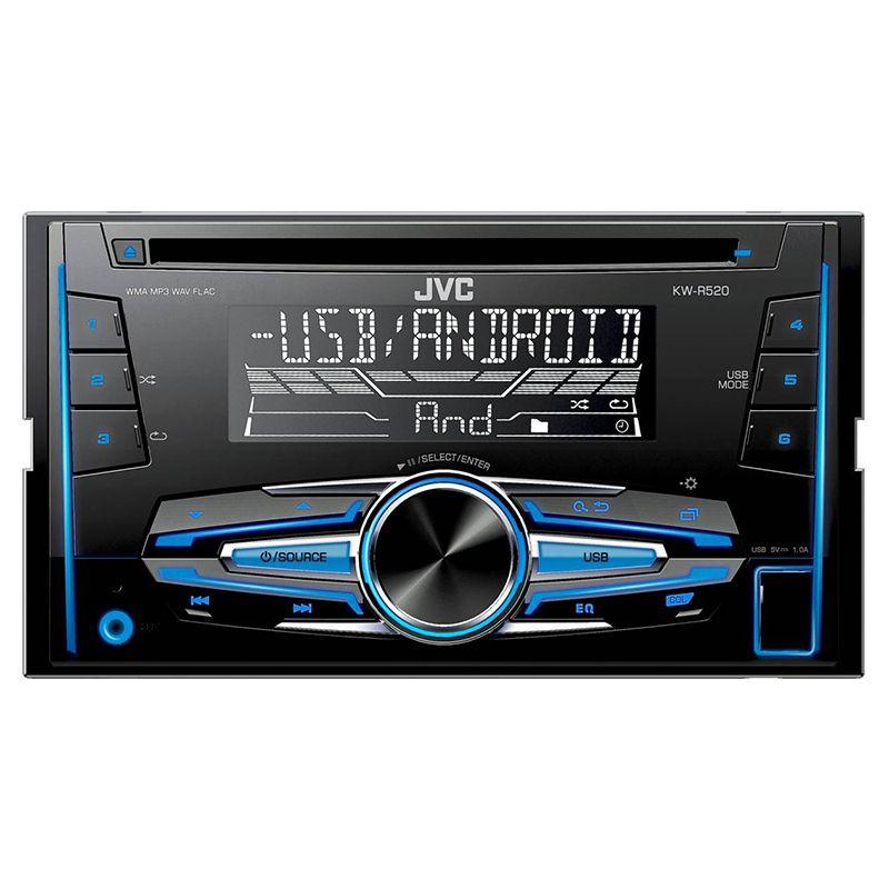 Radio CD Player KW-R520 JVC JVC, 2 DIN, 4X50W 2021 shopu.ro