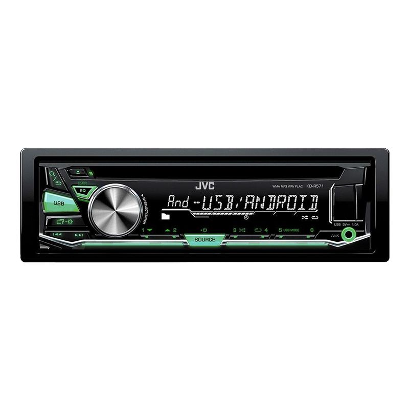 Radio CD Player auto JVC KD-R571, USB, tuner digital cu RDS 2021 shopu.ro