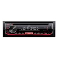 Radio CD USB android KD-T402 JVC, 15 setari, negru