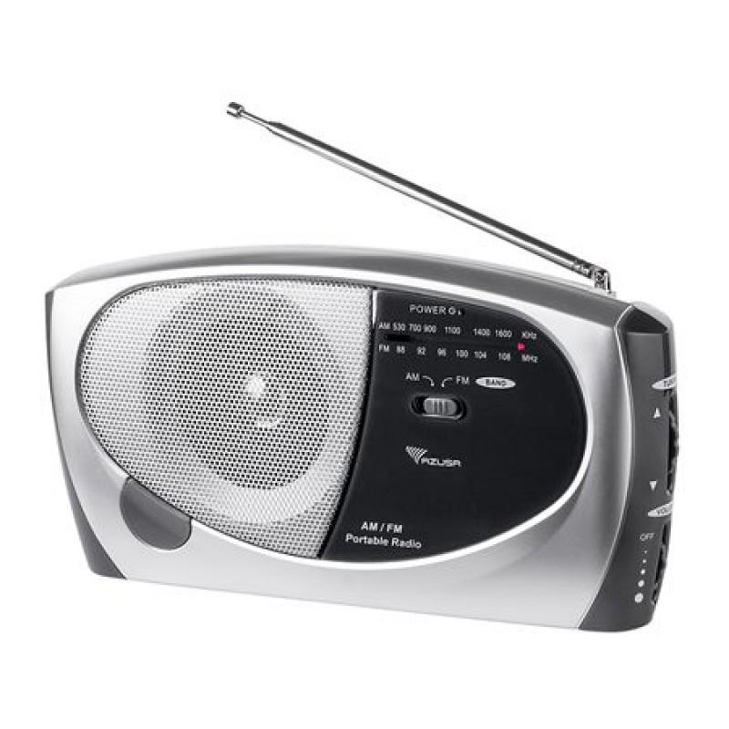 Radio FM portabil Azusa PR-11, 5 W, Gri/Negru 2021 shopu.ro