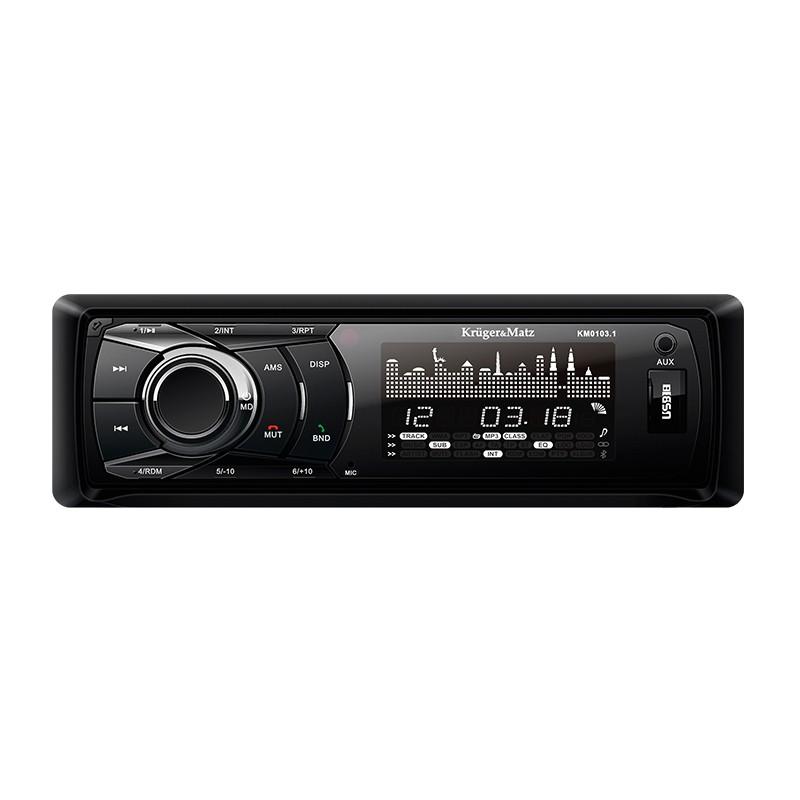 Radio Mp3 Player Kruger&Matz, 4 x 20 W, FM/AM, USB/SD, control ton, Negru 2021 shopu.ro