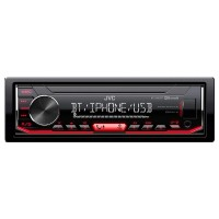 Radio bluetooh MP3 Player KDX352BT JVC, format 1 DIN, display digital