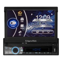 Radio player Kruger & Matz, 7 inch, 4 x 40 W, 64 RAM, ecran TFT, microfon