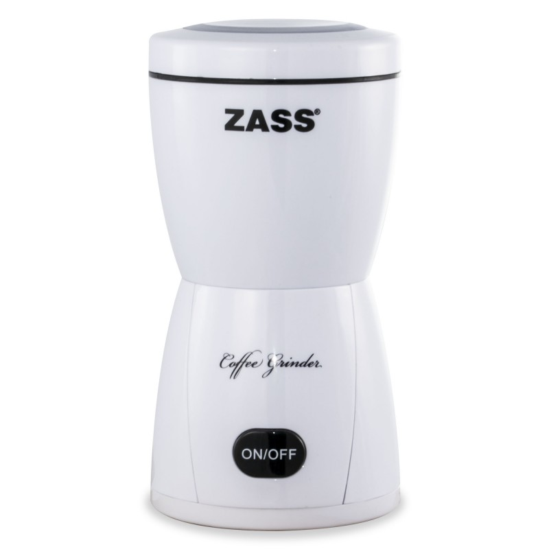 Rasnita de cafea Zass, 150 W, 80 g, alb 2021 shopu.ro