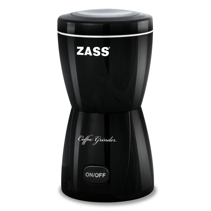 Rasnita de cafea Zass, 150 W, 80 g, negru 2021 shopu.ro