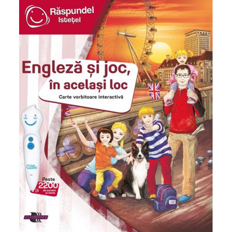 Carte intru in joc, in acelasi loc Raspundel Istetel, 5 ani+, limba engleza 2021 shopu.ro