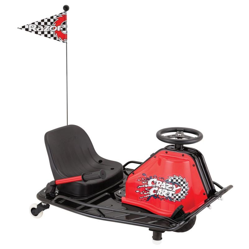 Razor Crazy Cart, rotatii la 360 de grade, 2 x 12 V, 20 km/h