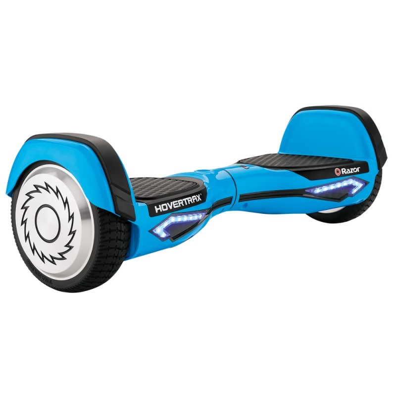 Hoverboard Razor Hovertrax 2.0, motor 2 x 350 W, 36 V, baterie detasabila, 13 km/h, Albastru