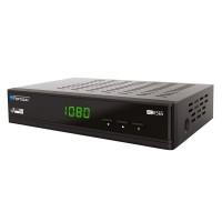 Receptor satelit XS65 Opticum, HDMI, conector USB 2.0, Negru