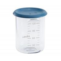 Recipient ermetic din Tritan Beaba, 120 ml, Albastru